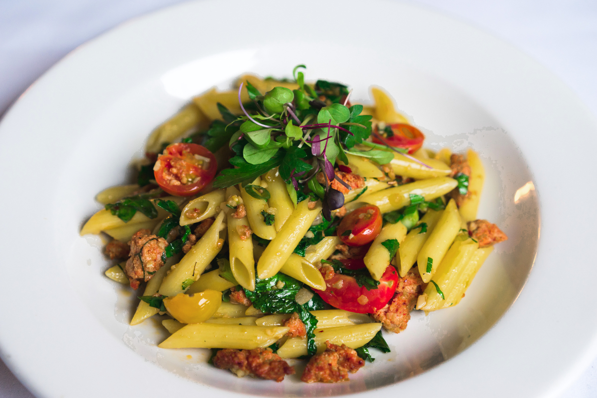 Penne with Tomato and Porcini Mushroom Sauce Recipe forecast
